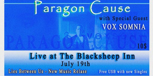 Paragon Cause Music Release with guest Vox Somnia
