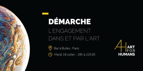 DÉMARCHE - Accès exclusif à l'exposition-vente  Art For Humans billets
