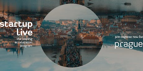 Startup Live Prague — boost your startup tickets
