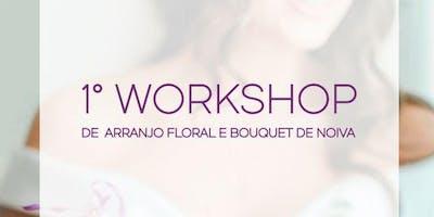 Workshop de Arranjos Florais e Bouquet de Noiva
