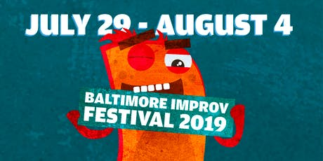 Baltimore Improv Festival: Monday at 8:30  tickets