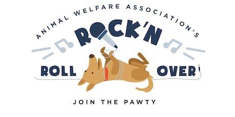 Animal Welfare Association's Rock 'N Roll Over tickets