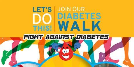 Diabetes Awareness Walk tickets