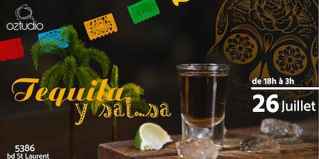Soirée Tequila y sal...sa @Oztudio billets