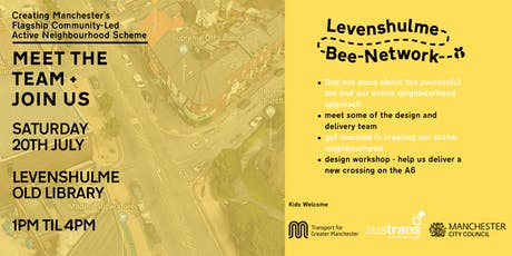 Levenshulme Bee Network - Meet the Team + Join Us tickets