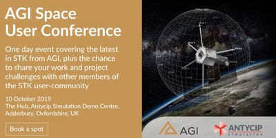 AGI Space User Conference, The Hub, Adderbury, UK, October 10