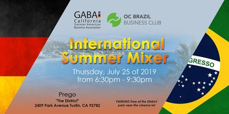 International Summer Mixer with GABA & OC Brazil Business Club tickets