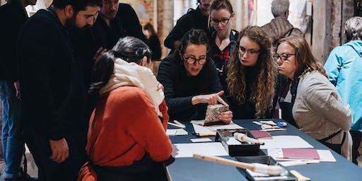Bookbinding - Bookbinding Demo and Workshop with Hanbury Press