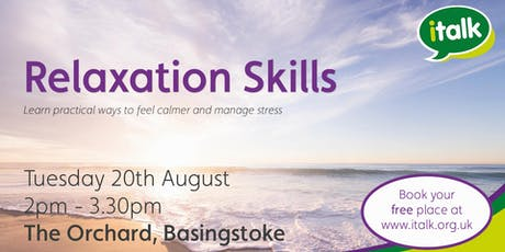 Relaxation Skills - Basingstoke tickets