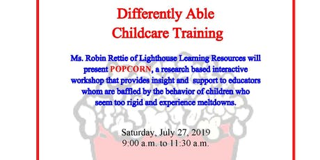 Differently Able Childcare Training tickets