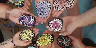 Mandala Dotting Paint Workshop for Havens Hospice