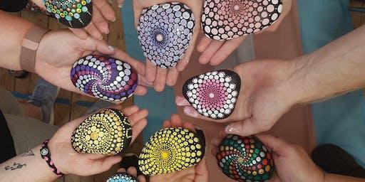 Mandala Dotting Paint Workshop for Havens Hospice