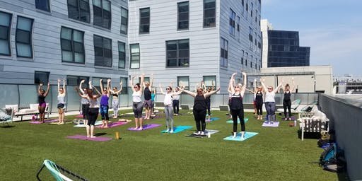 Rooftop Yoga with Wellness With Molly | Navigator Taproom