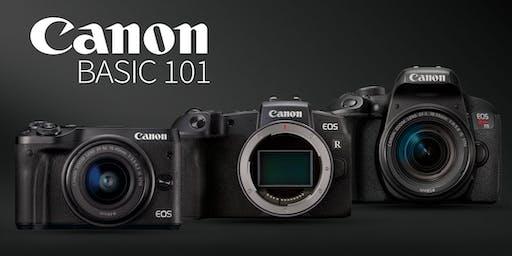 Canon Basic 101