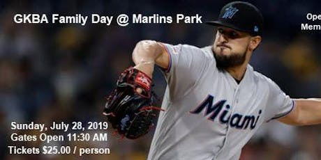 GKBA Family Day @ Marlins Park  tickets