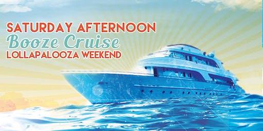 Saturday Afternoon Booze Cruise (Lollapalooza Wknd)