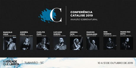 Conferência Catalise ingressos