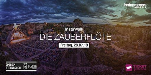 """InstaWalk I Oper im Steinbruch """"Die Zauberflöte"""""""