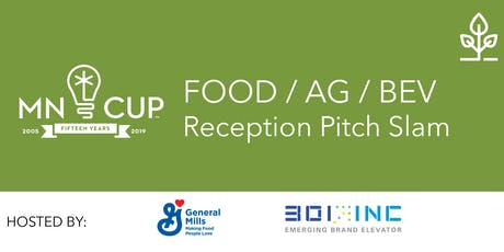2019 MN Cup Food Ag & Beverage Pitch Slam tickets