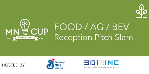2019 MN Cup Food Ag & Beverage Pitch Slam