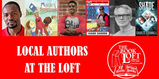 Local Authors at The Loft - July 2019