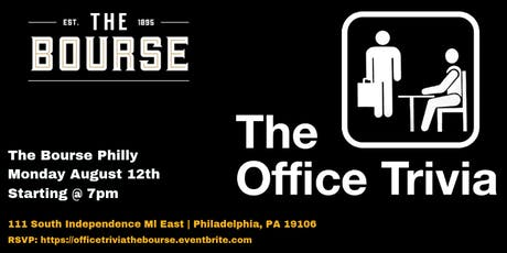 The Office Trivia at The Bourse Philly tickets
