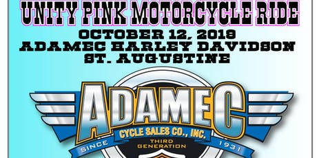 10th ANNUAL UNITY PINK RIDE-VENDOR SIGNUP tickets