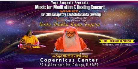 Nada Shobha Raga Sagara – Music for Meditation and Healing Concert tickets