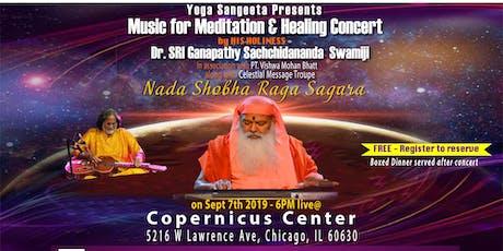 Nada Shobha Raga Sagara – Music for Meditation and Healing Concert tickets