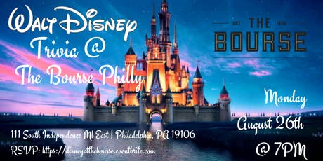 Disney Movie Trivia at The Bourse Philly tickets