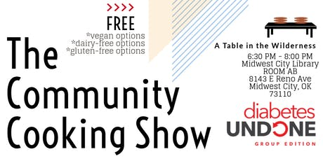 The Community Cooking Show tickets