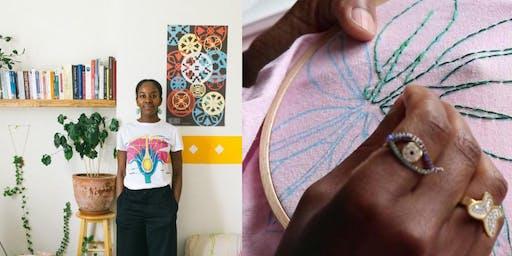 Modern Embroidery with Rebeckah Kemi Apara of Embellished Talk