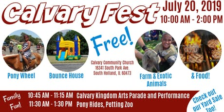 Calvary Fest tickets