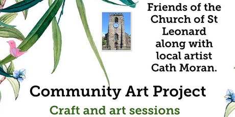 Community Art Project with FOCSL & Cath Moran tickets