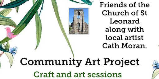 Community Art Project with FOCSL & Cath Moran