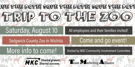 """MKC and TMA """"Trip to the Zoo"""" tickets"""