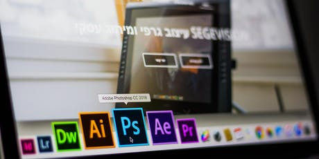 InDesign and Photoshop tickets
