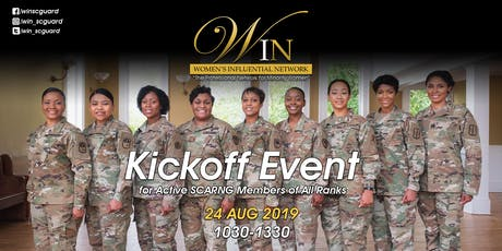 Women's Influential Network (SCARNG) Kickoff Event tickets