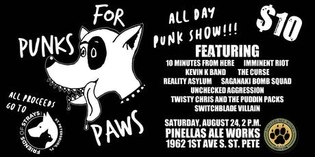Punks For Paws tickets