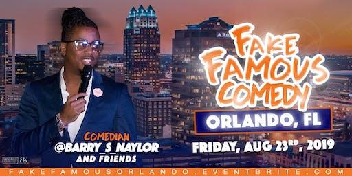 Fake Famous Comedy Tour (Orlando)