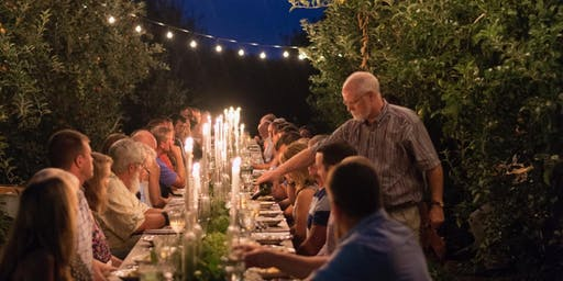 Farm to Table Cider Supper at the Orchard August 29, 2019