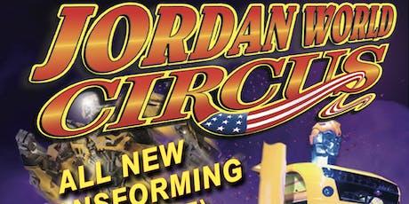 Jordan World Circus 2019 - New Iberia, LA tickets