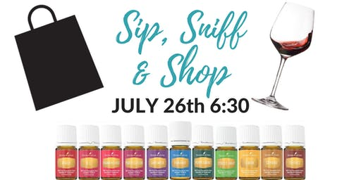 Sip, Sniff & Shop Night