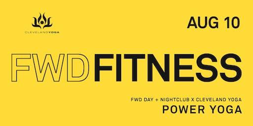 Power Yoga w/ Cleveland Yoga - FWD FITNESS - Aug