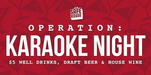 Operation: Karaoke Night