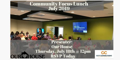 Community Focus Lunch tickets
