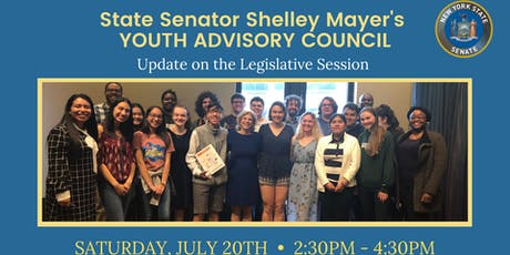 Youth Advisory Council: Update on the Legislative Session tickets