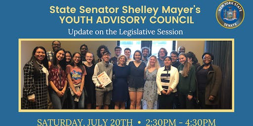 Youth Advisory Council: Update on the Legislative Session