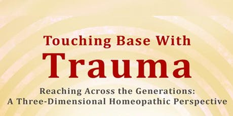 One day trauma and homeopathy workshop tickets