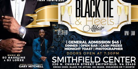 New Year's Eve Black Tie & Heels Affair tickets